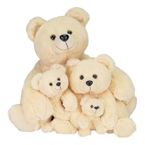"This is the Butter Family and very cute they are! An adorable set in sizes of Mama Bear 27"" - Baby Bear 18""   Baby Bear 12.5"" - Baby Bear Jr. 9"""