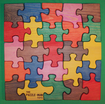 """Wooden toys are educational games for developing dexterity, problem-solving and reasoning skills, hand-eye coordination, color, shape, and size identification! The puzzles for kids are light in weight, large in size (about 3/4"""" thick for easy handling), and interlock for even preschoolers to play and handle them!. The colors are non-toxic!"""