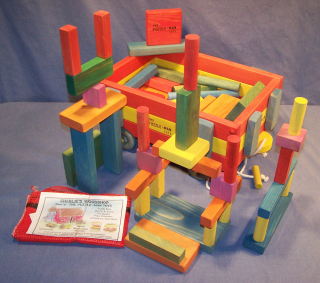 The building blocks come in different colors and shapes and sizes! They are a exceptionall educational games to enhanceimagination, eye-hand coordination, dexterity, size and color relationships, problem-solving, reasoning skills and so much more!